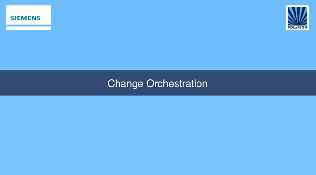 Change Orchestration