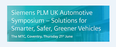 Siemens PLM UK Automotive Symposium 2018