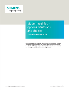 Modern Realities: Options, Variations and Choices