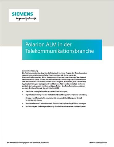 Polarion ALM in der Telekommunikationsbranche