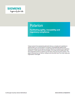 Polarion - Facilitating agility, traceability and regulatory compliance