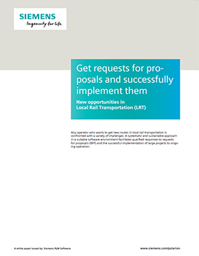Get requests for proposals and successfully implement them