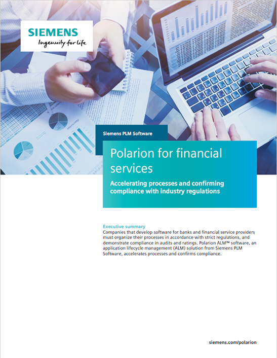 Polarion for financial services