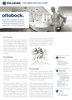 Download now: Customer Success Story: Ottobock