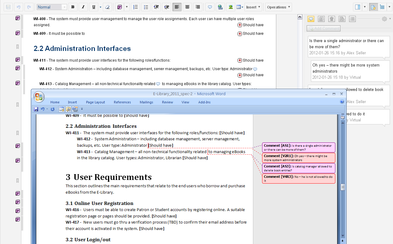 Requirements Management, Requirements Gathering